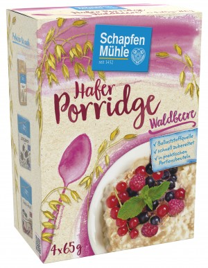 Hafer Porridge Waldbeere, 260 g